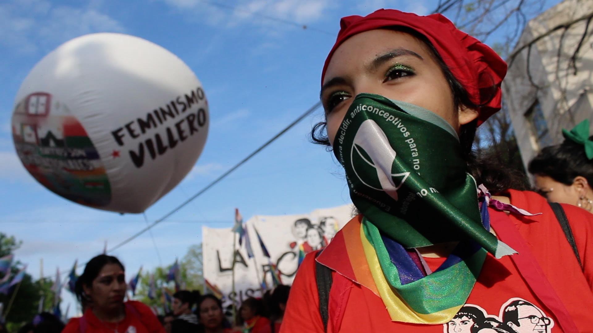 foto 4 feminismo villero
